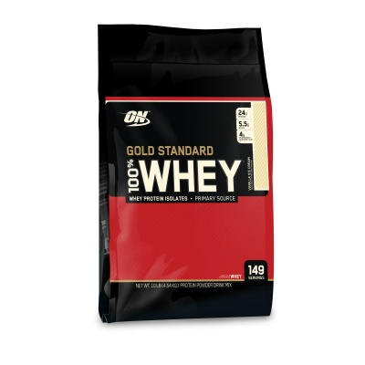 Протеин Optimum Nutrition 100% Gold Standard Whey Protein 4540 гр